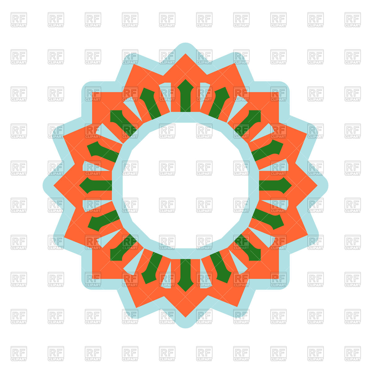 1200x1200 Halal Template For Islamic Pattern Royalty Free Vector Clip Art