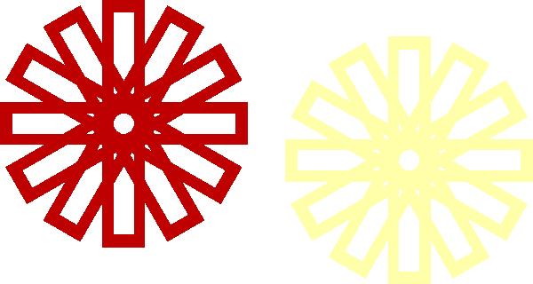 600x320 Islamic Star Clip Art