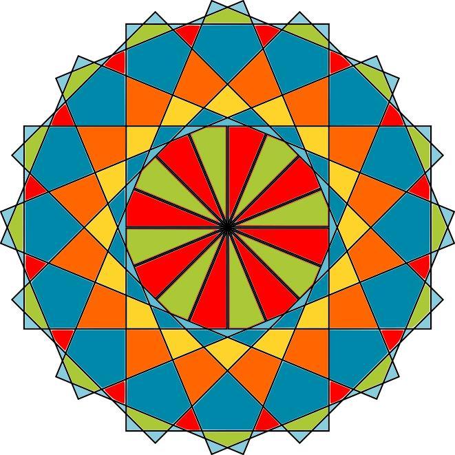 661x661 Islamic Modern Vector Ornaments Art Clipart