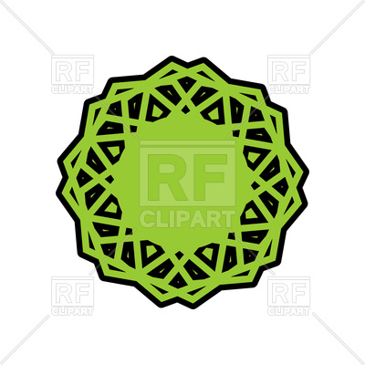 400x400 Halal Template For Islamic Food Royalty Free Vector Clip Art Image