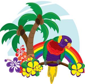 300x295 Free Hawaii Clipart Image 0515 1102 0914 3317