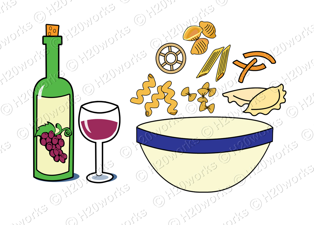 1000x717 Italian Pasta Clip Art Submited Images.