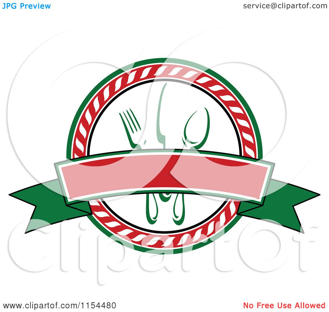 1080x1024 Clipart Of An Italian Restaurant Logo 3