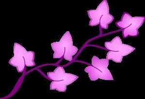 299x204 Ivy Purple Clip Art