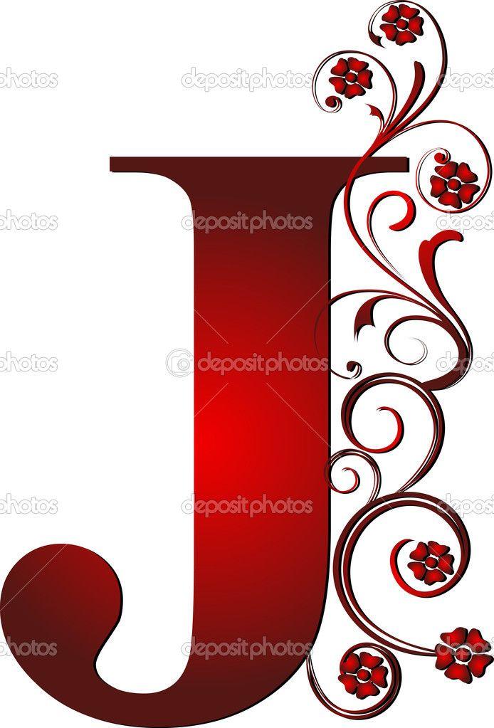 694x1023 Fancy Letter J Clipart Letters Fancy Letters, Wood
