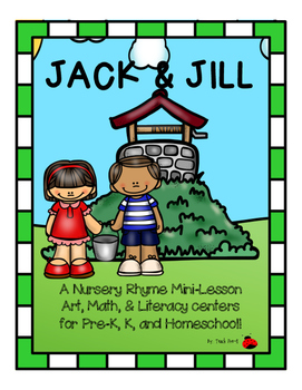 271x350 Jack And Jill Nursery Rhyme Activities Teaching Resources