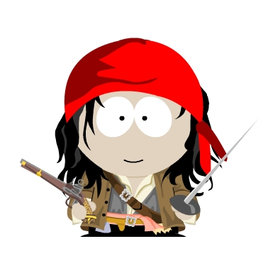 385x385 Jack Sparrow By Lewiswebster09
