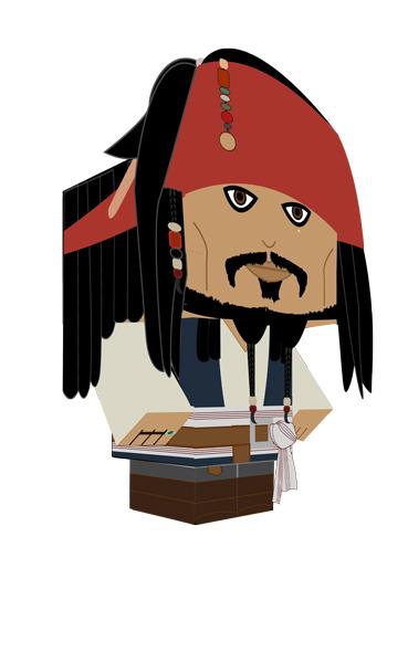 369x600 Jack Sparrow Cubee By Kurianp
