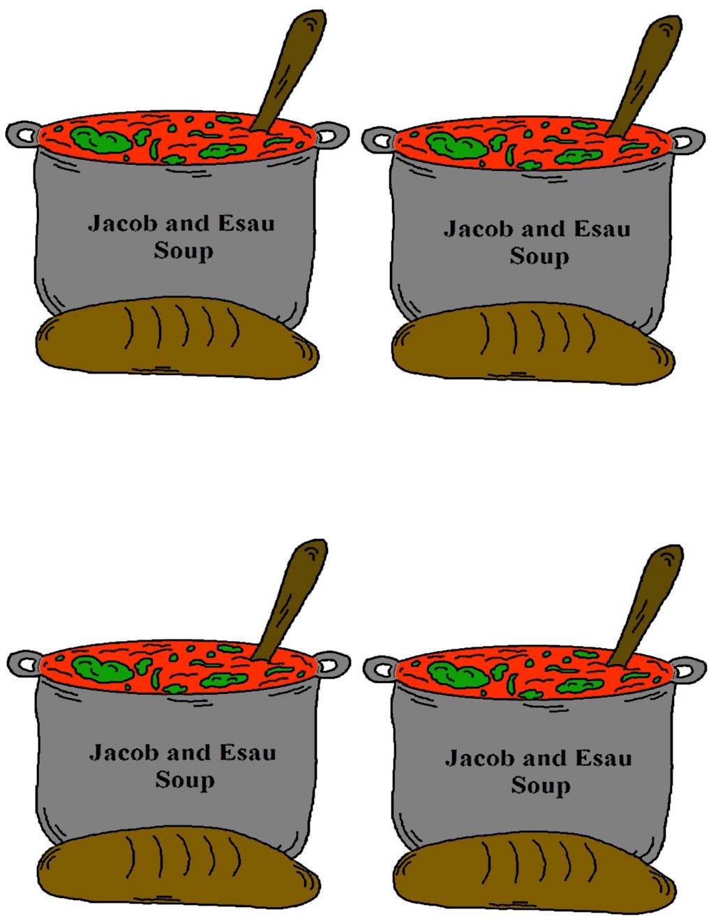 1019x1319 Jacob And Esau Bible Story For Preschool Crafts