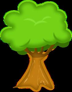 234x298 Bark Tree Clip Art