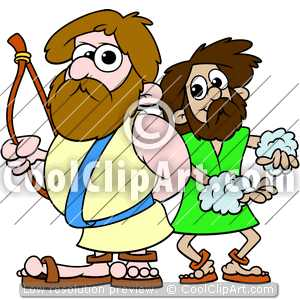 300x300 Bible Of Jacob And Esau Clipart