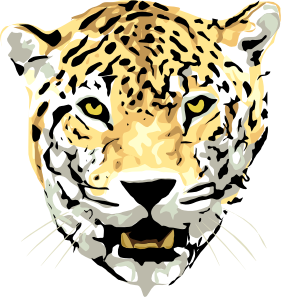 282x297 Best Photos Of Jaguar Head Clip Art