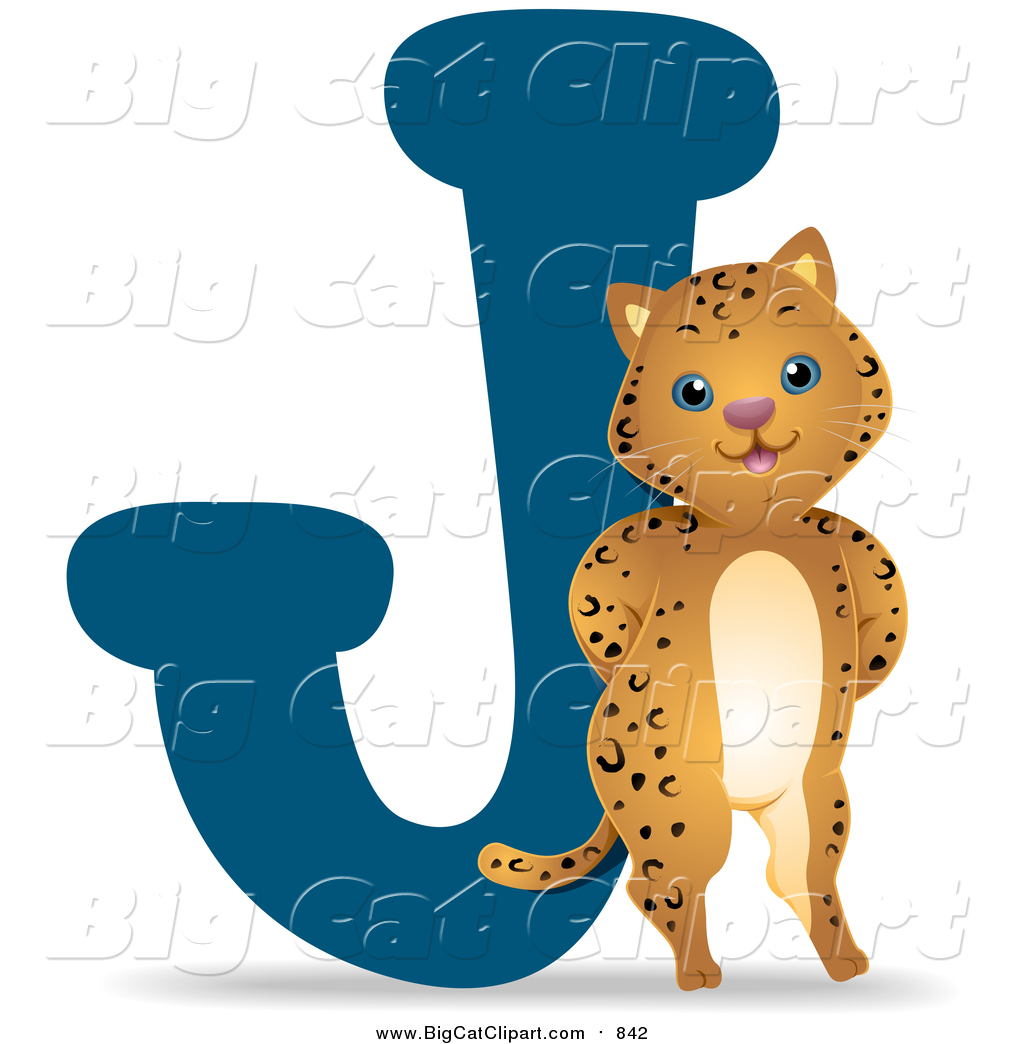 1024x1044 Big Cat Vector Clipart Of A Jaguar By A J By Bnp Design Studio