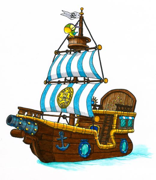 520x600 Jake And The Neverland Pirates Bucky Clipart