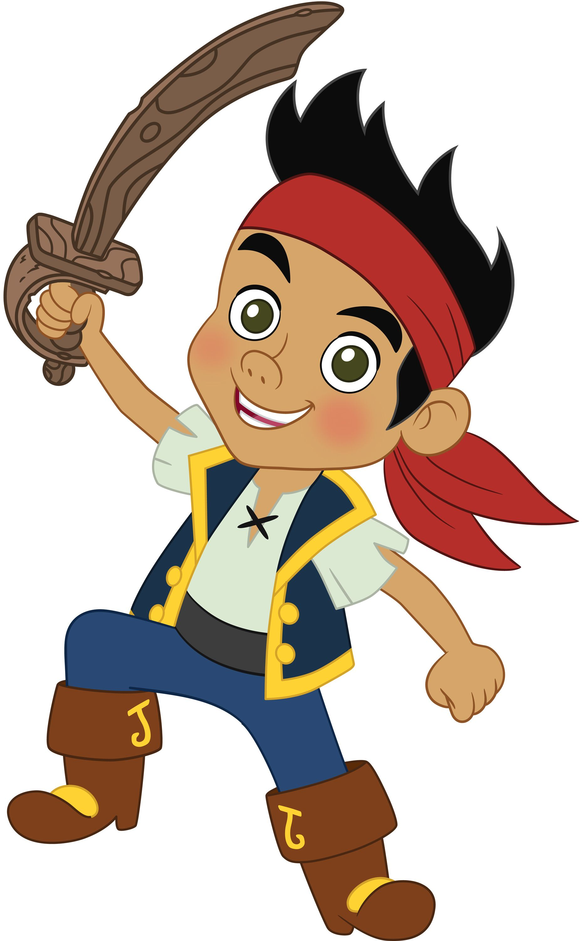 1870x3000 Jake And The Never Land Pirates Clipart 1.jpg Party