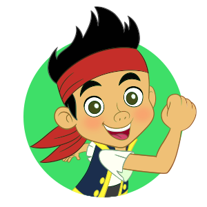 300x300 Clip Pirate Pals Treasurefalls! Jake And The Never Land