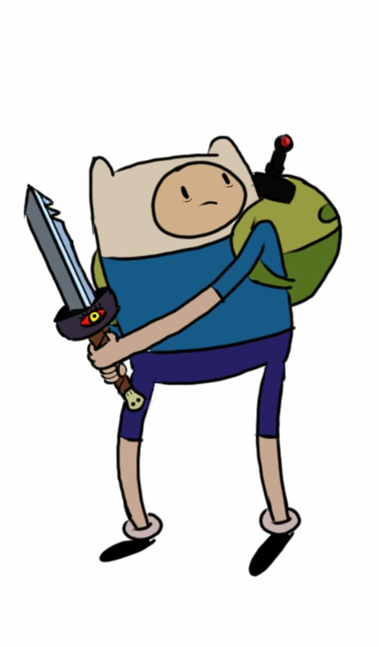 750x1280 Finn And Jake's Sword By Hilwa123