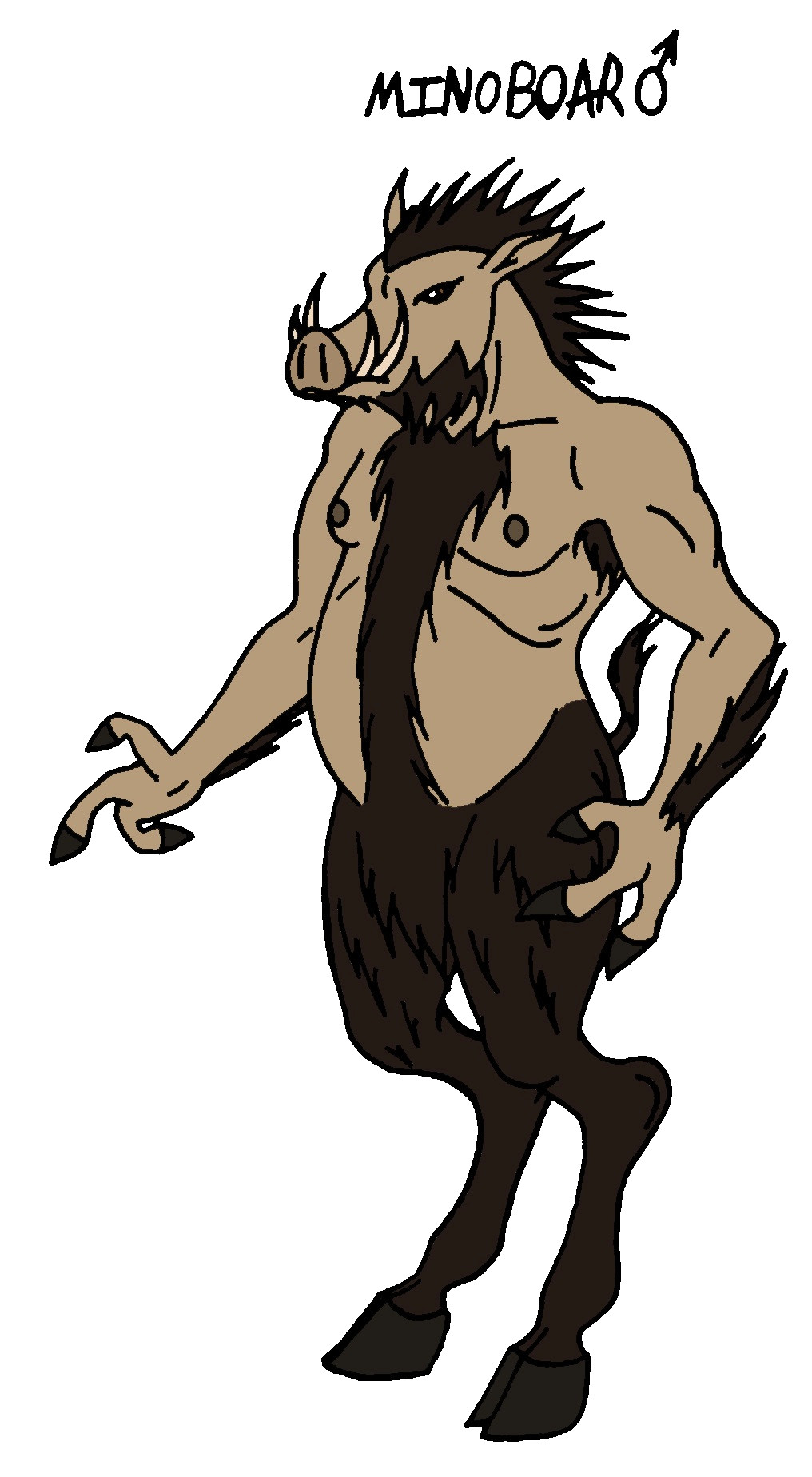 1016x1848 Narnia Races Male Minoboar By Jakegothicsnake D5tc1n2 Clip Art