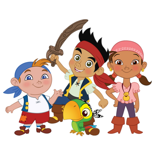 512x512 Jake And The Neverland Pirates