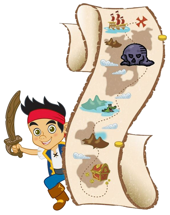 586x740 Jake Amp The Never Land Pirates Clipart Panda