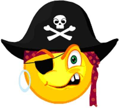 400x364 Pirate Clipart