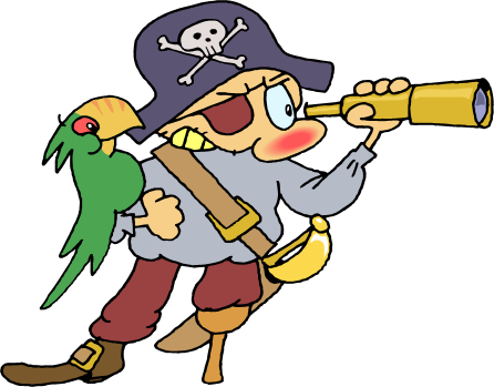 446x349 Pirate Clip Art Animated Free Clipart Images