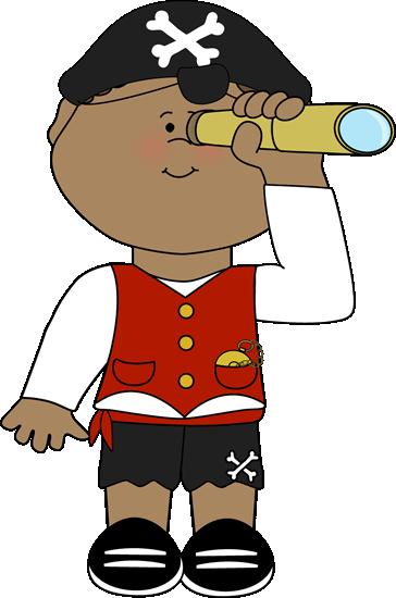 364x550 Pirate Clipart Telescope