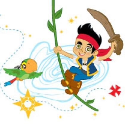 420x420 Birthday Party Ideas For Kids Pirate Birthday, Neverland