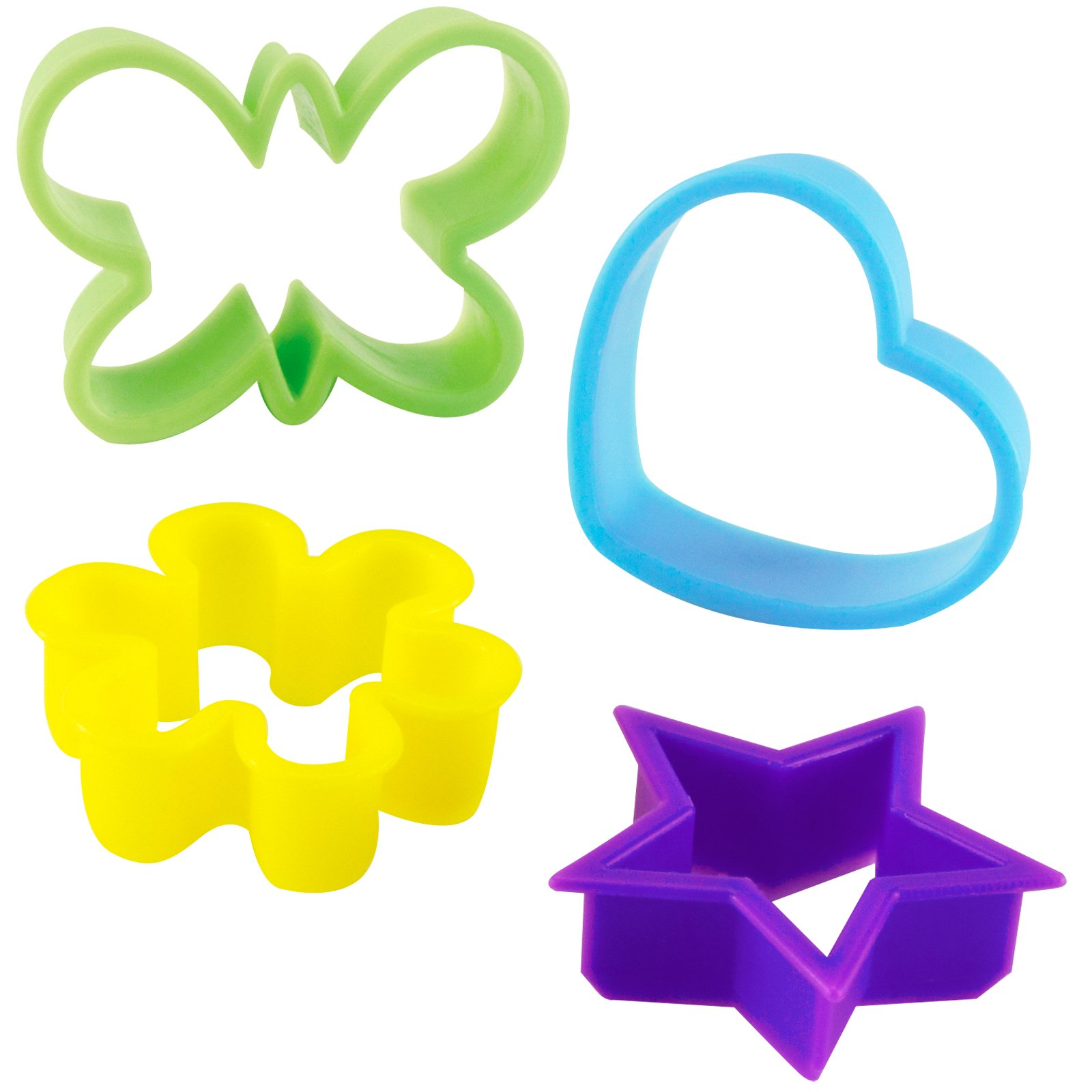 1600x1600 Cookie Cutters Clipart