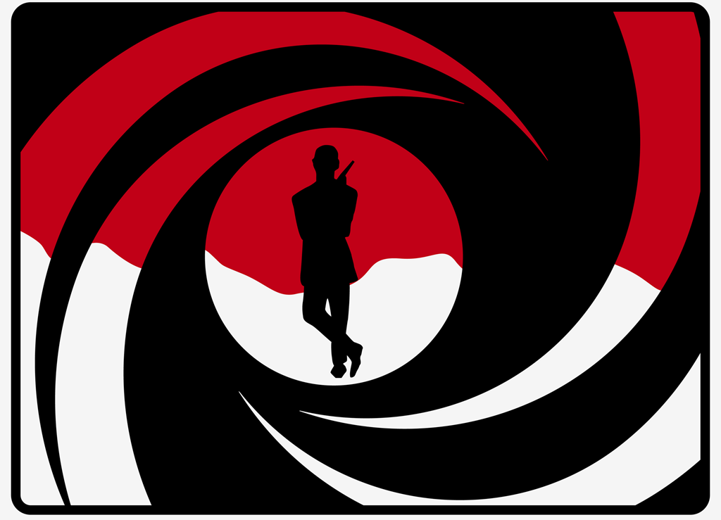 1024x739 James Bond Clipart Blacked Out