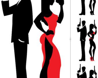 340x270 Spy Silhouette Etsy