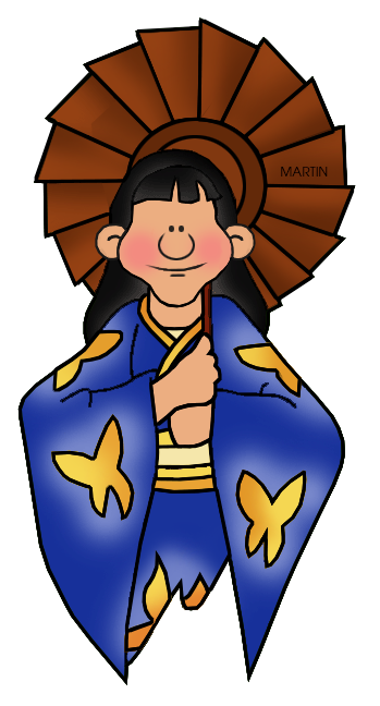 349x648 Japan Clip Art By Phillip Martin, Woman With Umbrella