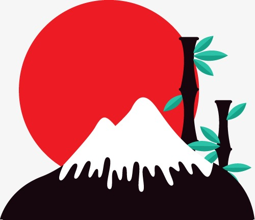 500x431 Mount Fuji, Japan, Japanese Element Png Image And Clipart For Free
