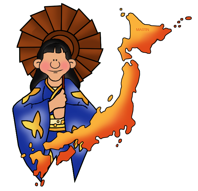 672x648 Japan Clip Art By Phillip Martin, Map Of Japan