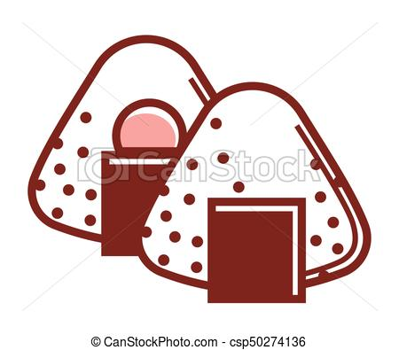 450x395 Delicious Sweet Japanese Mochi Dessert Isolated Cartoon Vectors