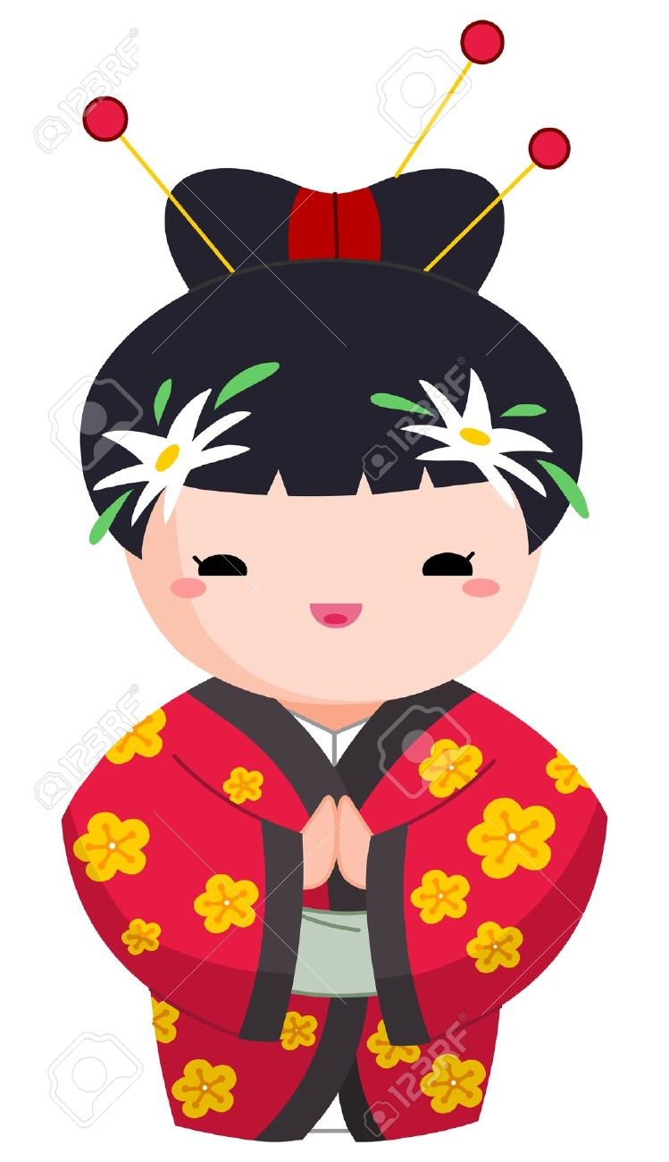 749x1300 Japan Clipart Character