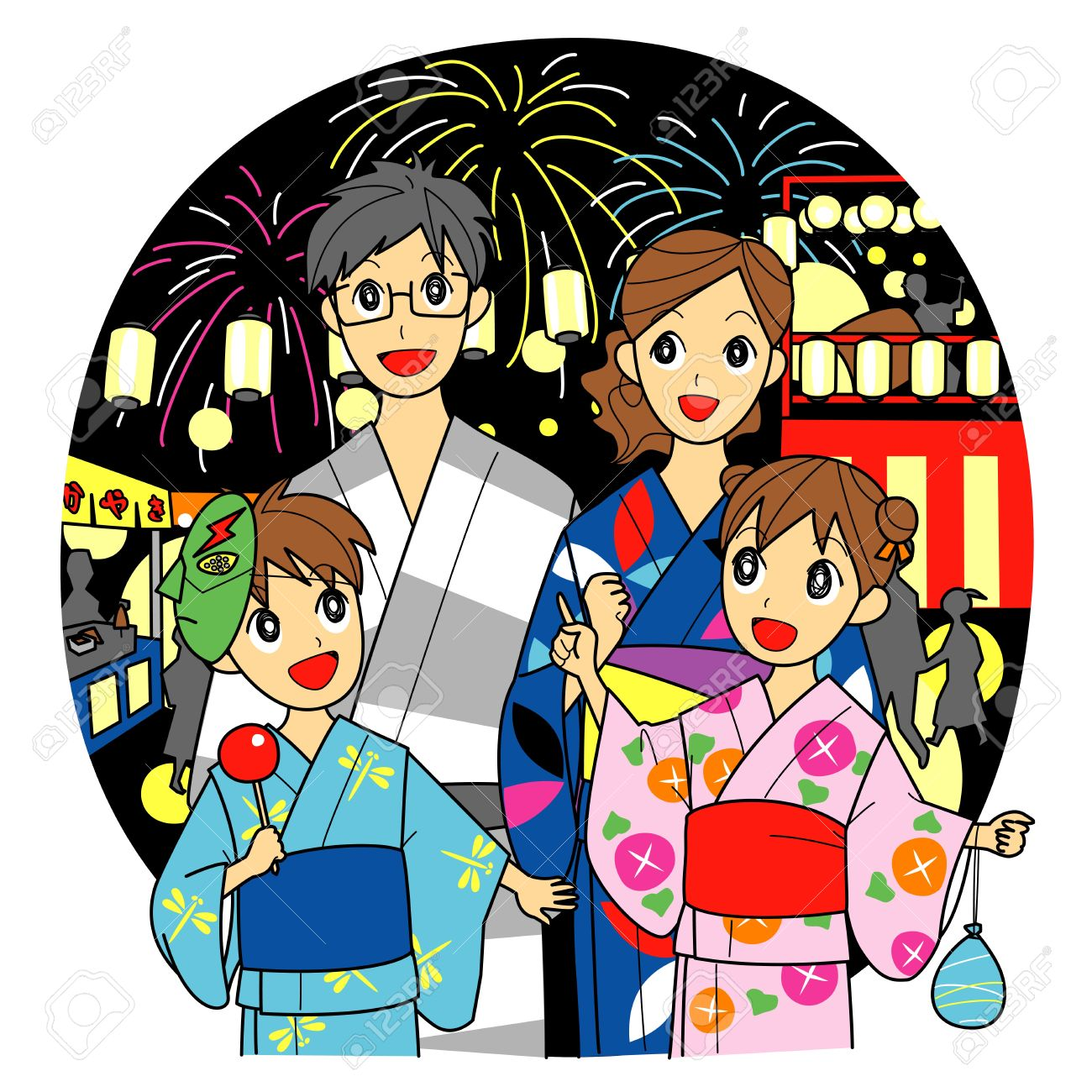 1300x1300 Collection Of Japanese Family Clipart High Quality, Free