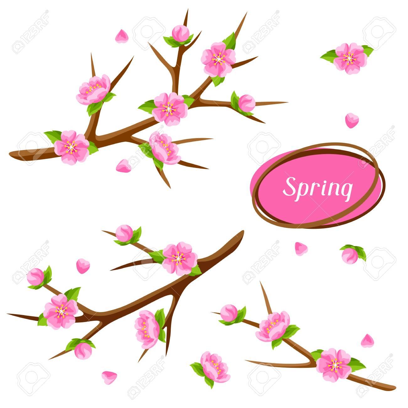 1300x1300 Sakura Clipart Springtime Tree