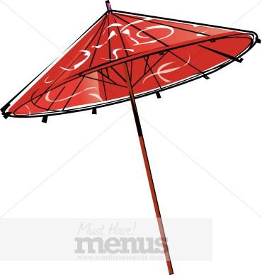 370x388 Japanese Umbrella Clip Art Clipart