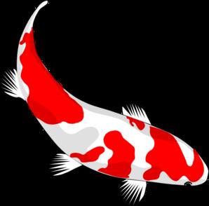 298x294 Koi Fish Clipart