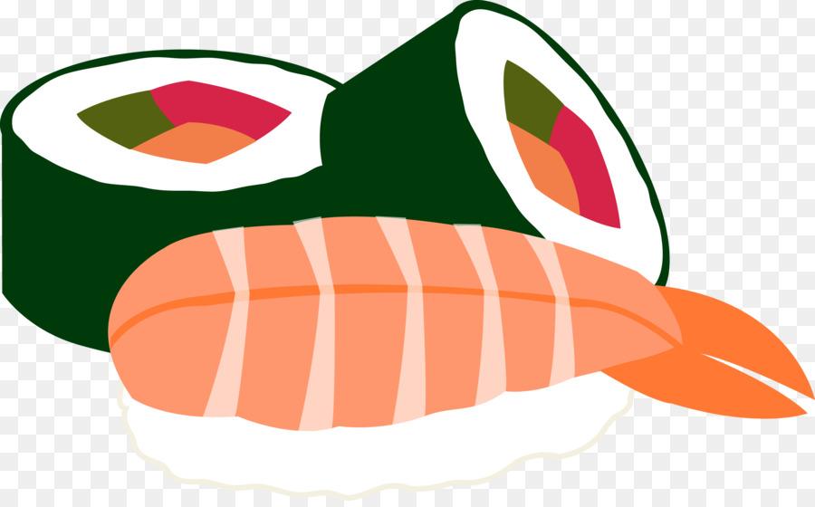 900x560 Sushi Japanese Cuisine Seafood Makizushi Clip Art