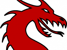 220x165 Dragon Face Clipart