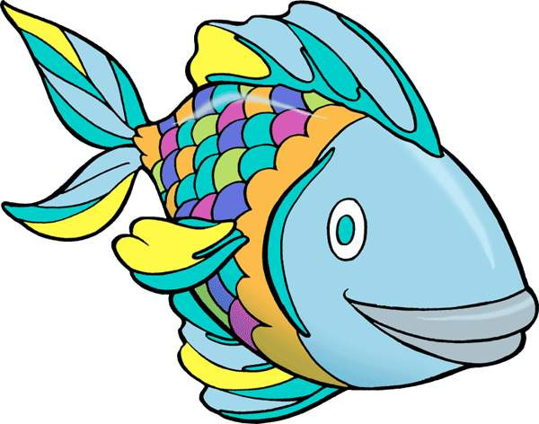 600x472 Inspirational Colorful Fish Clipart Fish Line Art Free Download