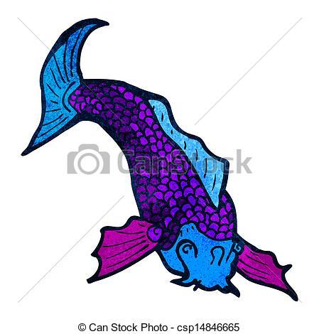 449x470 Cartoon Japanese Fish Tattoo Clip Art Vector