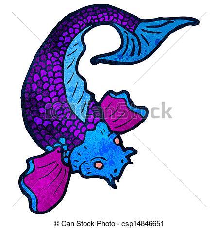 449x470 Cartoon Japanese Fish Tattoo Clipart Vector