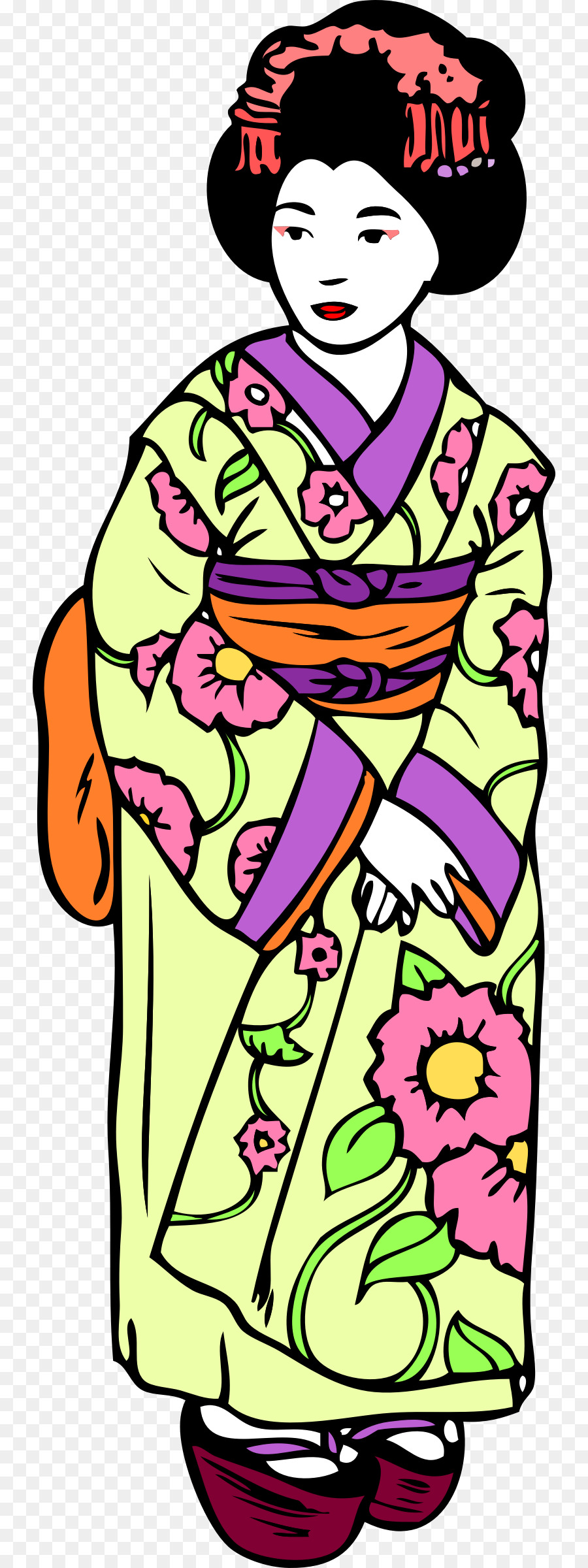 japanese geisha clipart at getdrawings com free for personal use rh getdrawings com japanese clipart japanese clip art coloring pages
