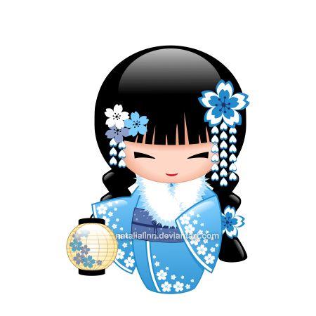 450x450 Winter Kokeshi Winter, Kokeshi Dolls And Dolls