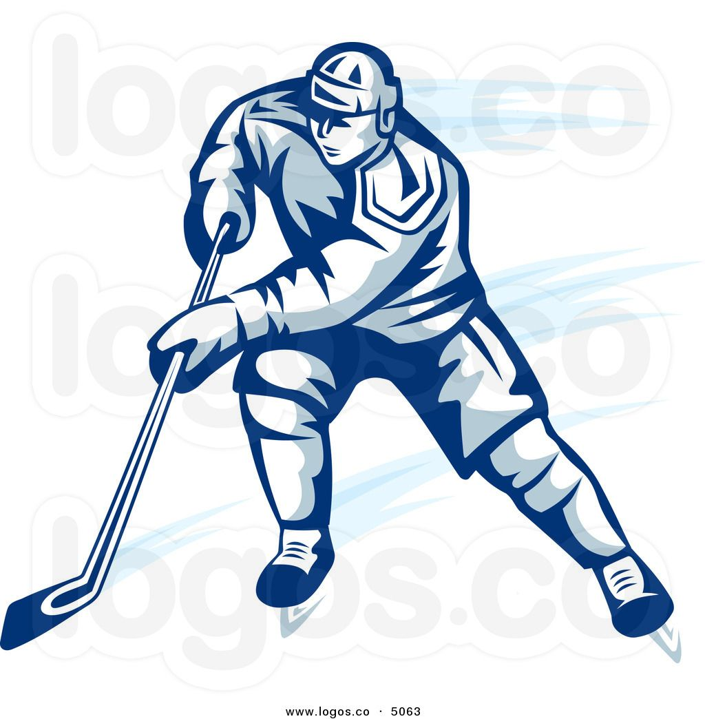 1024x1044 Ice Hockey Player Images Royalty Free Vector Of A Blue Ice
