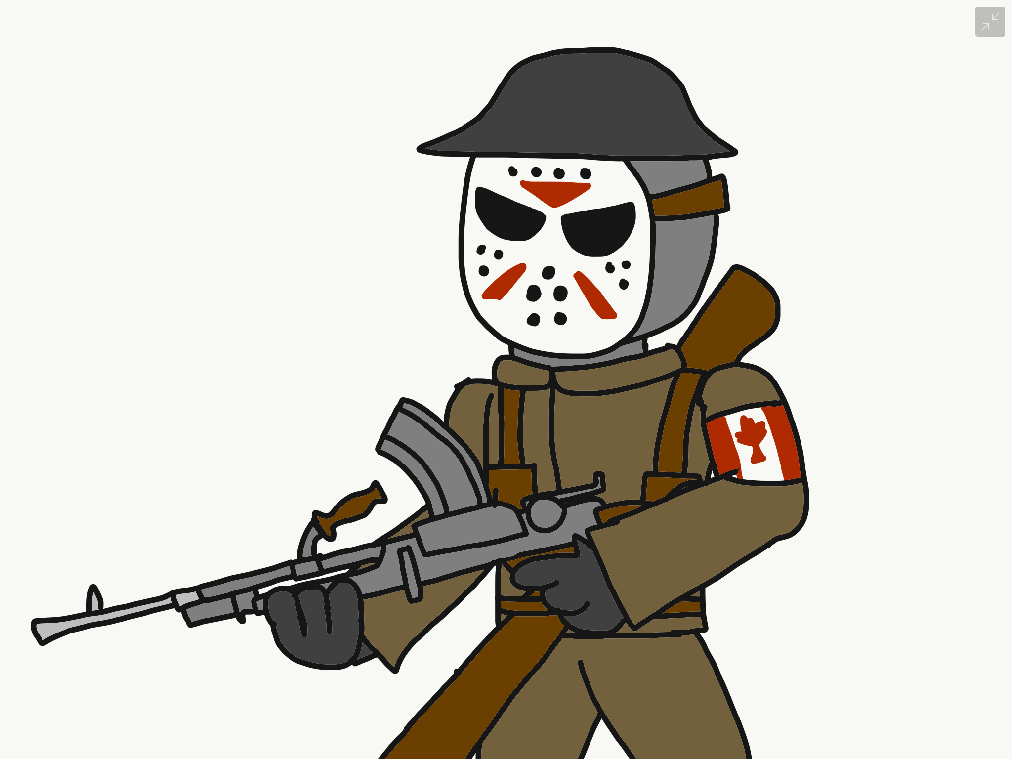 2048x1536 Jason Voorhees The Martial Art Canadian Soldier By Reaper2545