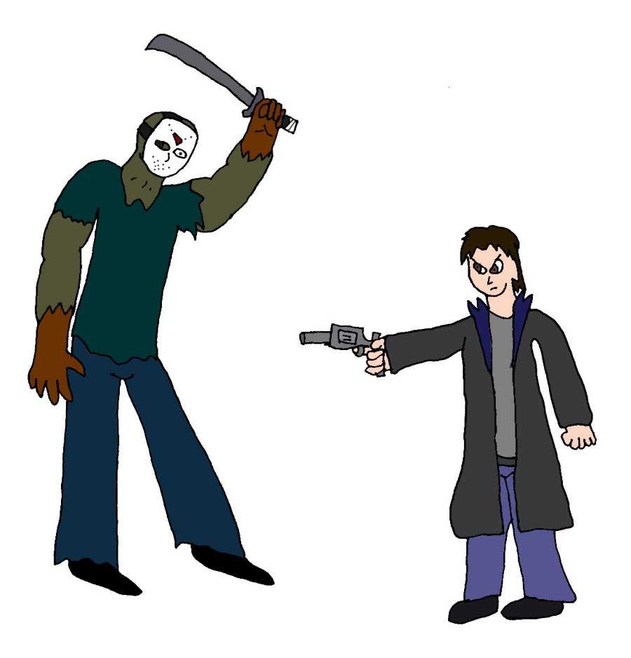 900x938 Jason Voorhees Vs Jason Dean By Evil Ed316